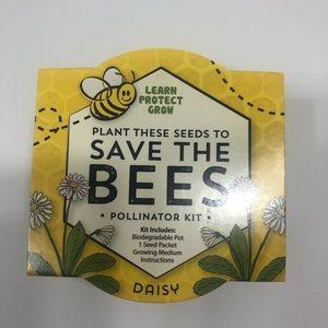 """Save the Bees"" Pollinator Kit (Daisy) NWT"